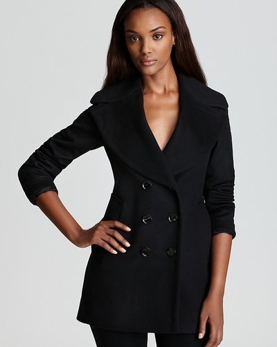 Burberry London Coat - Wensley Double Breasted Wool  & amp; Cashmere