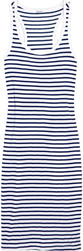 Splendid Florence striped cotton-blend jersey dress