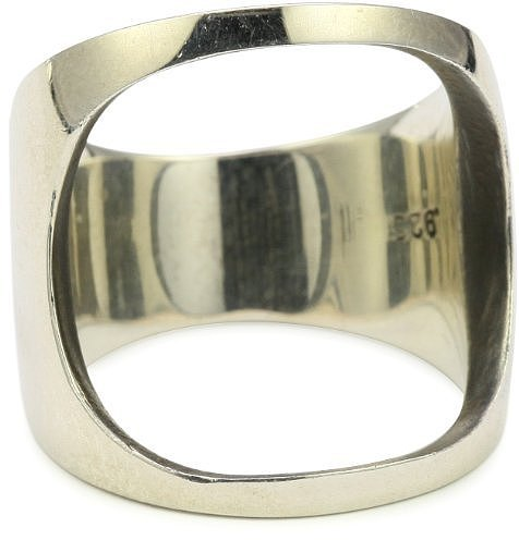 "HAN CHOLO ""Precious Metal"" Open Space Ring Sterling"
