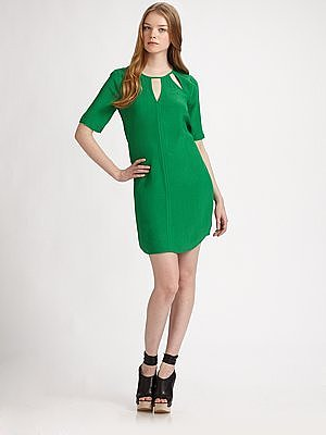BCBGMAXAZRIA Rosetta Cutout Dress