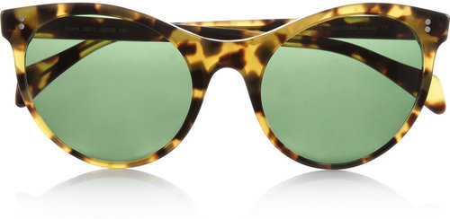 Illesteva Claire cat eye tortoiseshell acetate sunglasses