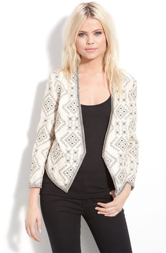 Parker Embroidered Linen Matador Jacket