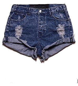 One Teaspoon Original Hawks High Waist Short in Dakota
