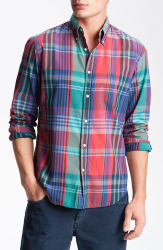 Gant Rugger India Madras Plaid Shirt