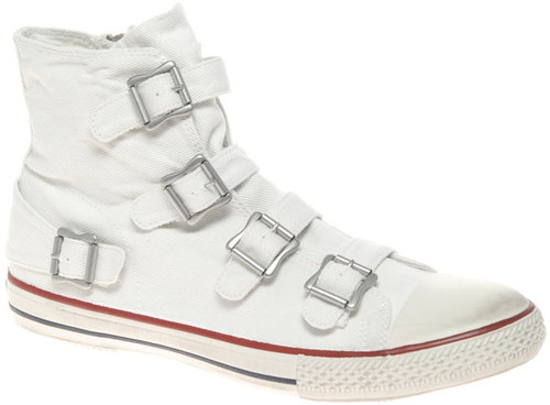 Ash Hi-Top Strap Sneakers