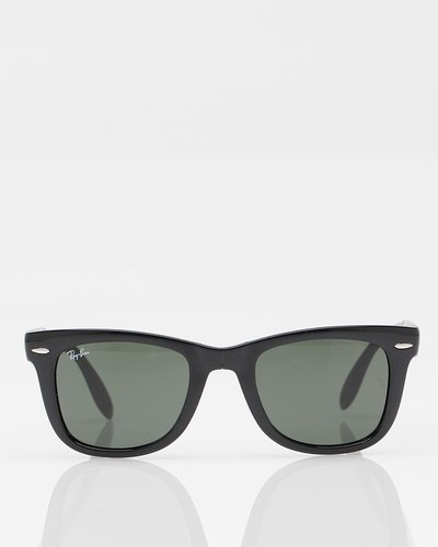 Folding Wayfarer In Black