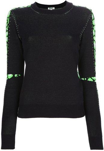 Kenzo panelled sweater