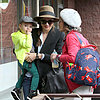 Miranda Kerr in LA With Flynn and Orlando's Mum Sonia Bloom