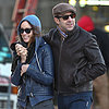 Olivia Wilde and Jason Sudeikis Cuddling in NYC