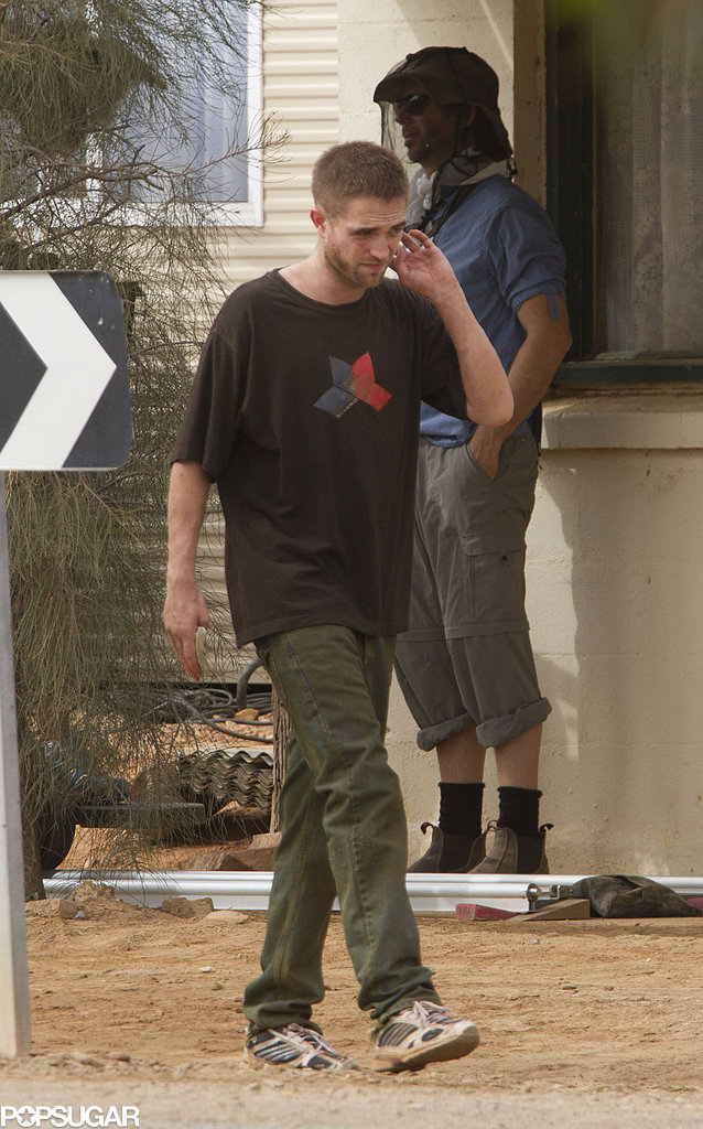 Robert Pattinson filmed scenes for The Rover in Australia.