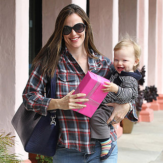 Jennifer Garner Shopping With Samuel | Pictures