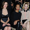 Celebrities at Miu Miu Fall 2013 Fashion Show
