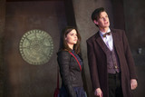 The Doctor and Clara . . . pondering.