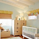 Playful Blue-and-Green Baby Boy Nursery