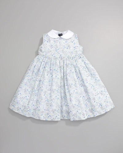 Oscar de la Renta Flowers Pinafore Dress