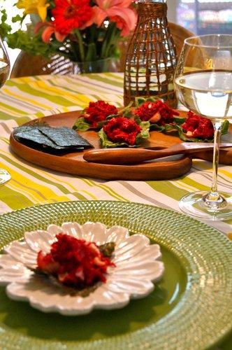 Beet Salad Wraps