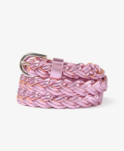 FOREVER 21 Braided Metallic Hip Belt
