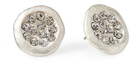 Tinley Road Round Pav Stud Earring