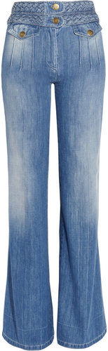 Chlo High-rise wide-leg jeans