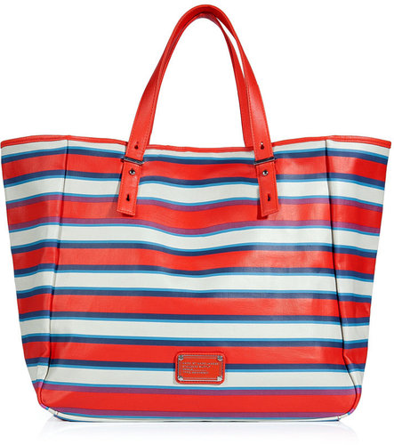 Marc by Marc Jacobs Coral Red Multicolor Beach Tote