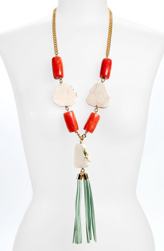 Mint and Coral Jewelry