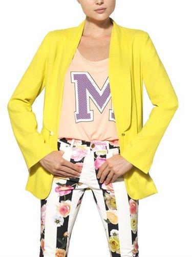 Msgm - Viscose Crepe Jacket