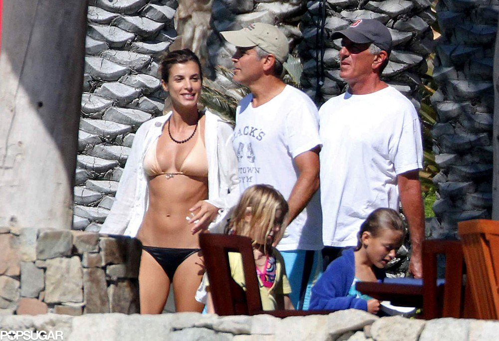 Elisabetta Canalis got a tan while in Cabo in December 2010.