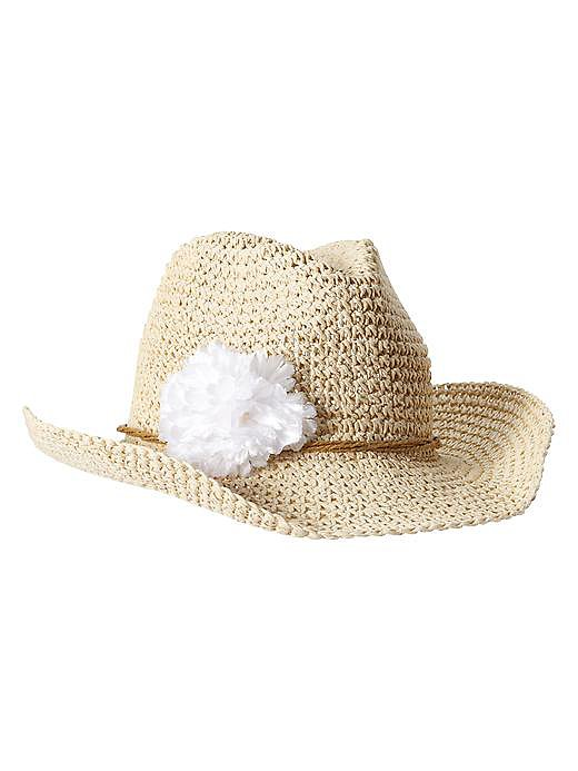 Gap Straw Cowgirl Hat