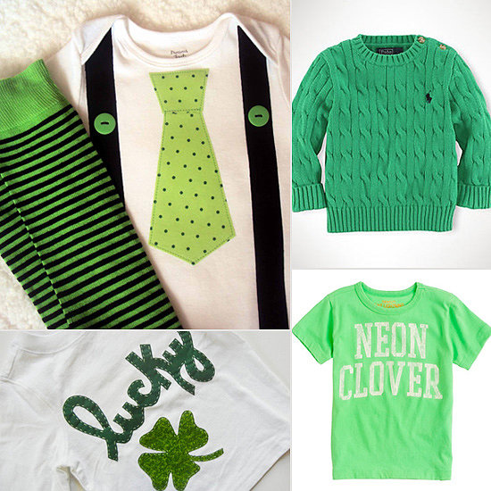 Luck o' the Irish: St. Patrick's Day Wardrobe Finds For Your Wee Ones