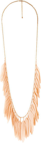 Pink Fringe Necklaces