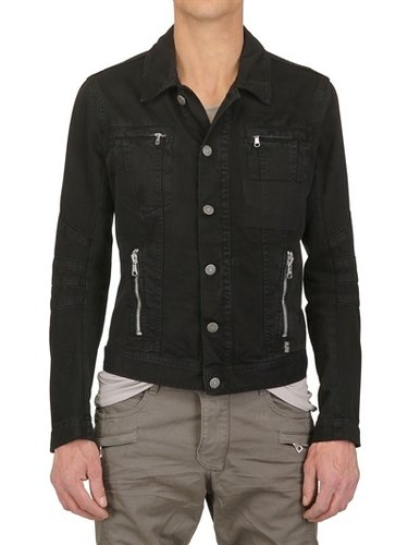 Pierre Balmain - Distressed Denim Sport Jacket
