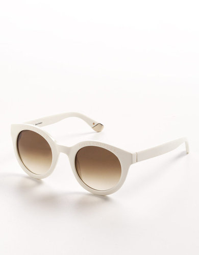 JUICY COUTURE Round Logo Frame Sunglasses