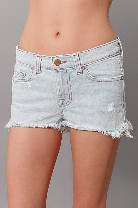 J Brand Denim Cutoffs Aqua