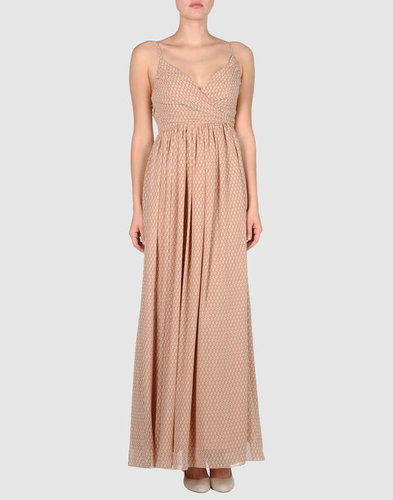 DOLORES PROMESAS EARTH Long dress