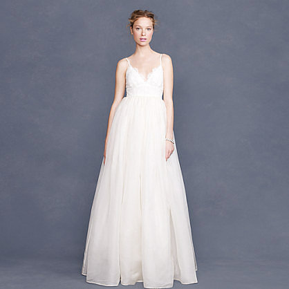 Collection Principessa gown in lace and organza