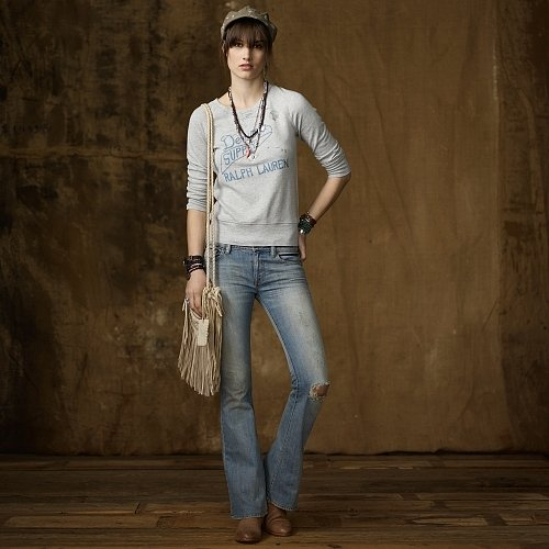 Denim & Supply Stretch Flare Dakota Jean