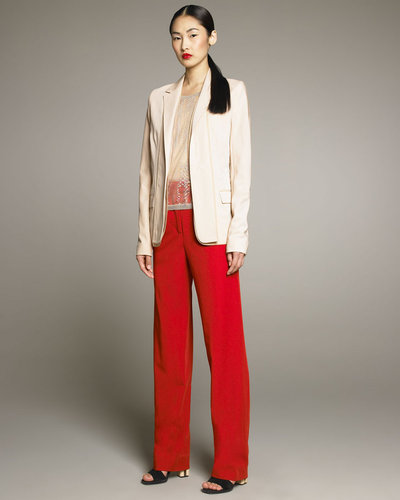 Reed Krakoff Tissue Wool Blazer