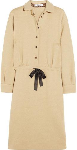 Chloé Wool-jersey dress