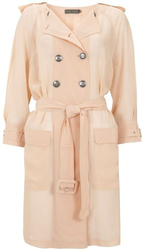 Women's Mint Velvet Foundation Sheer Trench Coat