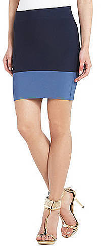 BCBGMAXAZRIA Joelle Color-Blocked Pencil Skirt
