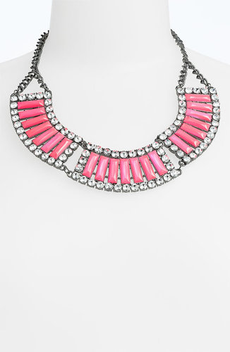 Jewelry Fashions Bead & Crystal Collar Necklace