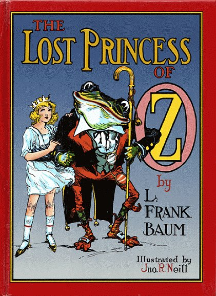 The Lost Princess of Oz, Book 11