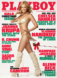Chelsea Handler got cheeky on the December 2009 issue, although her pictorial inside was not nude.