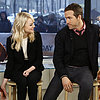 Celebrity Interview: Emma Stone &amp; Ryan Reynolds; The Croods
