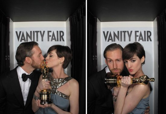 Celebs Get Silly in Just-Released Vanity Fair Oscars Photo Booth Snaps