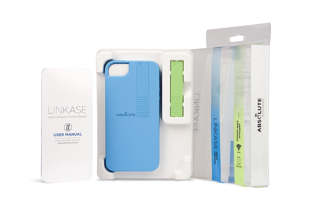 Linkase for iPhone 5 also has an optional EMW element in a contrasting color.