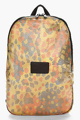 This colorful Marc Jacobs Rubberized Backpack ($120) is great for outdoor activities like hiking or boating — it's made of mesh and is easy to fold up and pack into another bag.