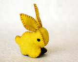 This sweet small felt bunny rabbit ($18) will delight the young and old alike.
