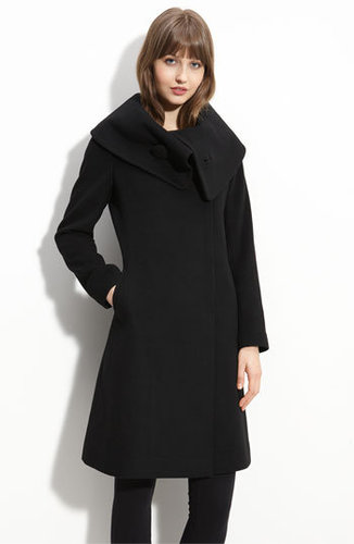Trina Turk Oversized Collar Coat