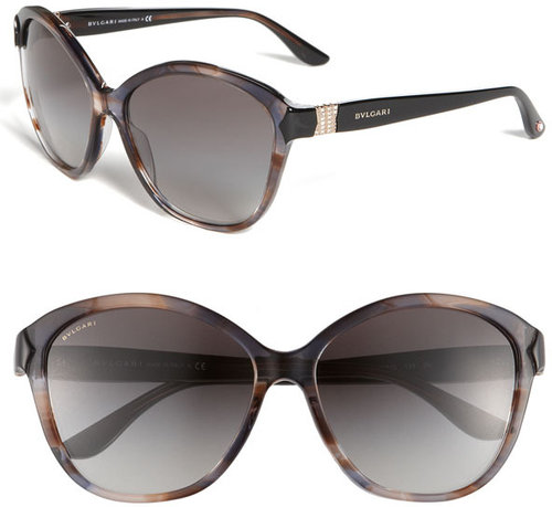 BVLGARI Round Cat's Eye Sunglasses